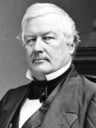 1852 Whig National Convention - Image: Millard Fillmore 13th president of the United States