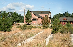 National Register of Historic Places listings in Kittitas County, Washington - Image: Milwaukee Road South Cle Elem Yard