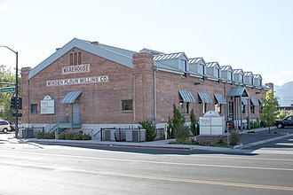 Minden, Nevada - The Minden Flour Milling Company is one of eight sites in Minden listed on the National Register of Historic Places.