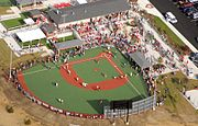 Miracle League Fairfield Opening Aerial 2012