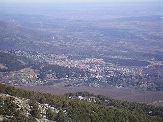 Miraflores de la Sierra Municipality in Madrid, Spain