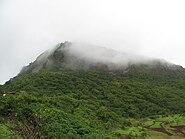 Misty mountain top - Lohagad Fort