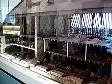 Modell Rübenzuckerfabrik Kunern, Zucker-Museum (Quelle: Wikimedia)