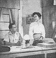 Moh Said and Tina Melinda in Sungai Darah, Film Varia 1.11 (November 1954), p9.jpg