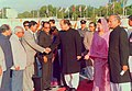 Mohammad Mosaddak Ali met with Prime Minister of Pakistan Nawaz Sharif at Zia International Airport in Dhaka.jpg