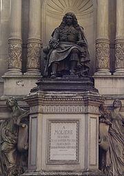 Statua di Molière a Parigi