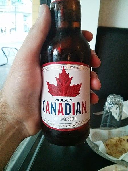 File:Molson Canadian Beerbottle.jpg
