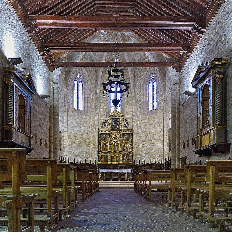 Monasterio de Santa Clara (Astudillo, Palencia). Iglesia.jpg