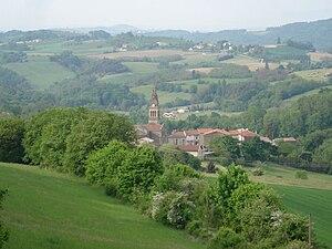Montchenu - A general view of Montchenu