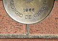 Montecatini Terme Viale Verdi Giorgio De Chirico plaque 01.JPG