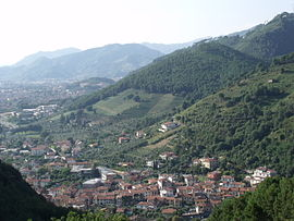 Panorama von Montignoso (Piano/Piazza)