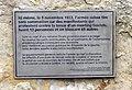 Monument 9 novembre 1932-Uni Mail-plaque.jpg