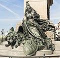 Monumento a Vittorio Emanuele II (Venezia) - Venezia soggiogata - Ettore Ferrari.jpg