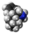 Morphinan molecule spacefill.png