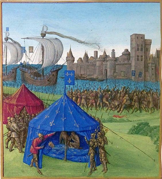 Mort de Louis IX le Saint