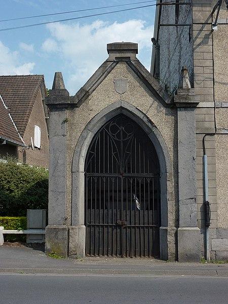 Mortagne-du-Nord (Nord, Fr) oratoire face à rue Martial Dewez