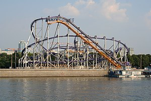 Gorky Park (Moscow) - Gorky Park Roller Coaster (removed in 2011)