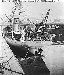 Motorboat Minnemac II pierside.jpg