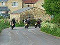 Motorcyclists, The Fox - geograph.org.uk - 797535.jpg