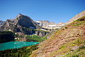 Mount Gould and Angel Wing from Grinnell Glacier Trail.JPG