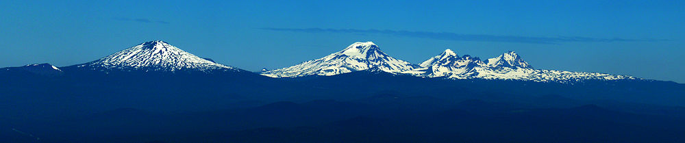 Picture of Mount Bachelor, Broken Top and the Three Sisters