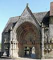 Moutier-d'Ahun - Abbaye - Portail gothique.JPG