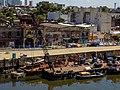 Muelle del Riachuelo cerca del puente Puente Avellaneda 02.jpg