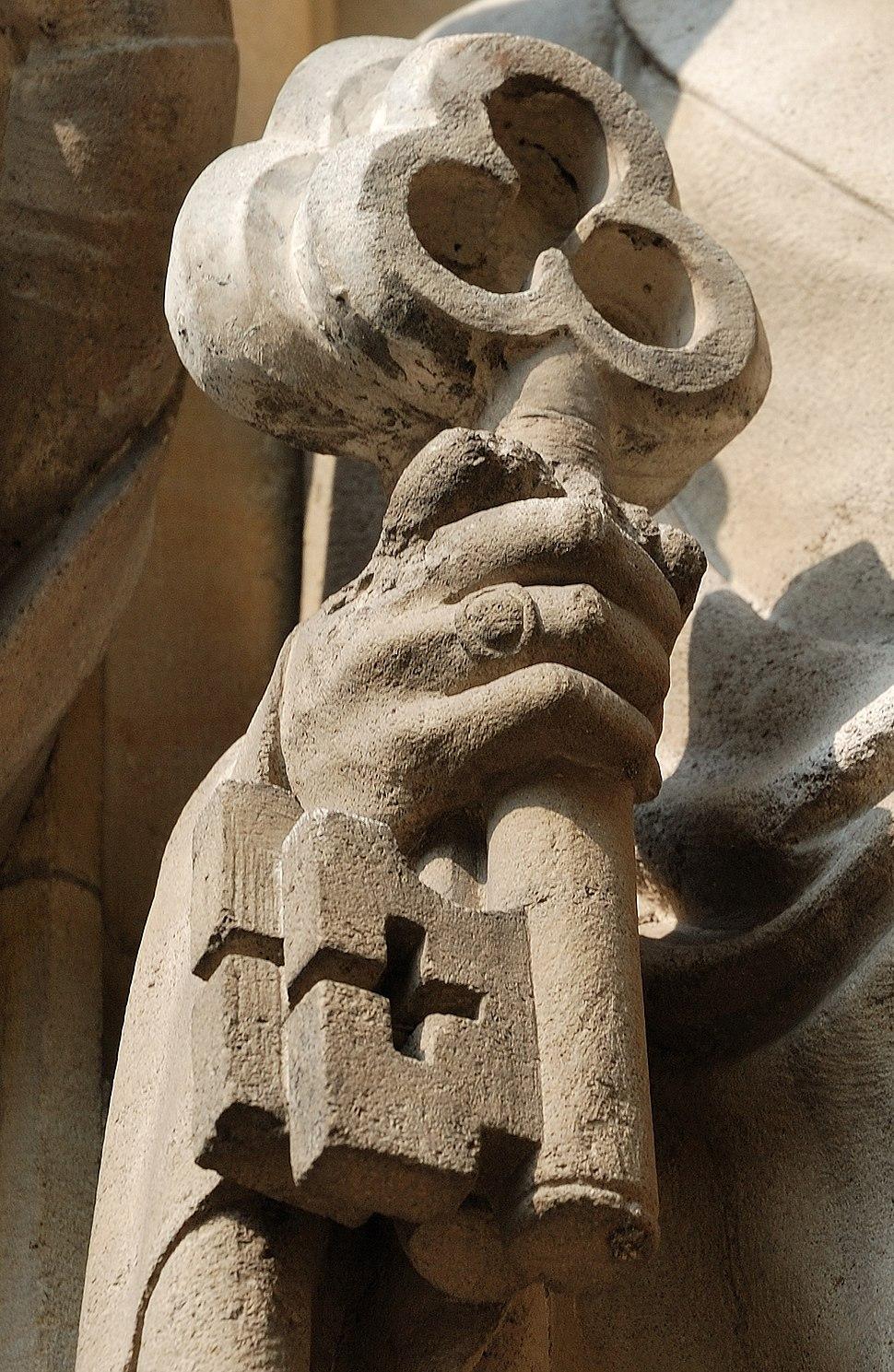 Muenster-100725-15996-%C3%9Cberwasserkirche-Schl%C3%BCssel