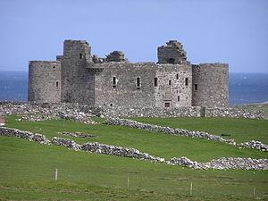 Unst - Muness Castle