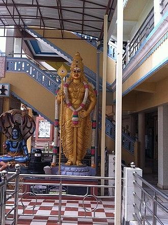Vel - Image: Murugan statue srisailam