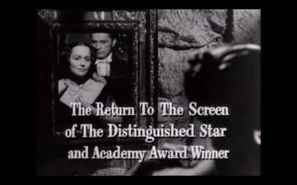 My Cousin Rachel (1952 film) - Olivia de Havilland and Richard Burton as Rachel and Philip in the trailer.
