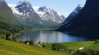 Vestland County (fylke) of Norway