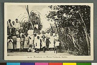 Nº80. Moradores no Moros Fontauna, Santos