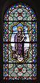 Néville-sur-Mer Église Saint-Martin et de la Sainte-Trinité Chœur Baie 3 Vitrail Jean le Baptiste 2013 09 01.jpg
