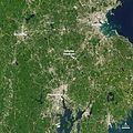 NASA Satellite Captures Super Bowl Cities - Boston-Providence (annotated) (16217392758).jpg