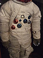 NASA Wallops Flight Facility Visitor Center Practice Space Suit for Russell Schweickart DSCF1023.jpg