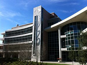 University of South Florida - The Natural and Environmental Sciences building.