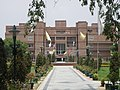 NSIT Delhi - path from Academic and Administrative Block to Library, telephoto.JPG