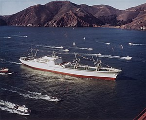 NS Savannah - Image: N Ssavannah 1962