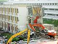 NTU Hall 3 Block 21 demolition.jpg