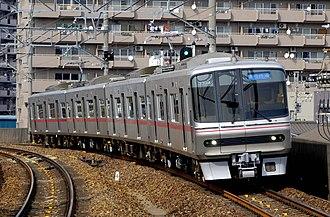 Meitetsu 3300 series - 3300 series set 3302 in April 2007
