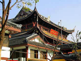 Wuxi - Nanchan Temple and Pagoda