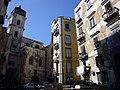 Napoli - s Anna di Palazzo - campanile dalla piazzetta rosario di palazzo 1060640.JPG