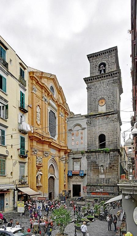 Eglise San Lorenzo Maggiore à Naples - Photo de Berthold Werner