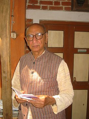 Narayan Desai - At Vedchhi, January 2007