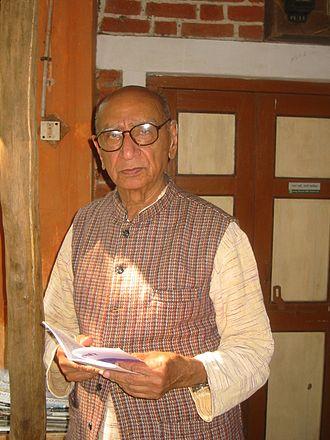 Narayan Desai - At Vedchhi, January 2007