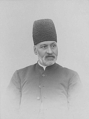 Mirza Nasrullah Khan - Image: Nasrullah Moshir al Dowleh