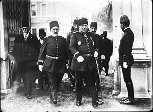 Nazım Pasha - Image: Nazim Pasha leaving