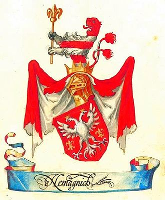 Museum of Applied Arts, Belgrade - Image: Nemanjić dynasty Belgrade Armorial II