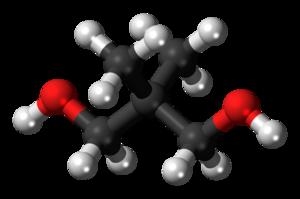 Neopentyl glycol - Image: Neopentyl glycol 3D balls